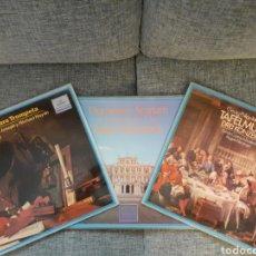 Discos de vinilo: SCARLATTI, TELEMANN, HAENDEL, HAYDN, ANDRÉ, RICHTER.. LOTE LPS. Lote 192477672