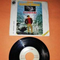 Discos de vinilo: JOAN MANUEL SERRAT. LA PALOMA. NOVOLA RECORD 1969. Lote 192481112