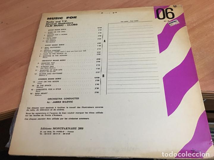 Discos de vinilo: JANKO NILOVIC (PSYC IMPRESSIONS) LP FRANCE (B-10) - Foto 2 - 192482176