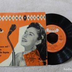 Discos de vinilo: CATERINA VALENTE EP THE BREEZE AND I +3. Lote 192487576