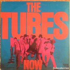 Discos de vinilo: THE TUBES NOW LP EDIC ESPAÑA DISCO EXCELENTE PORTADA VG. Lote 192489321