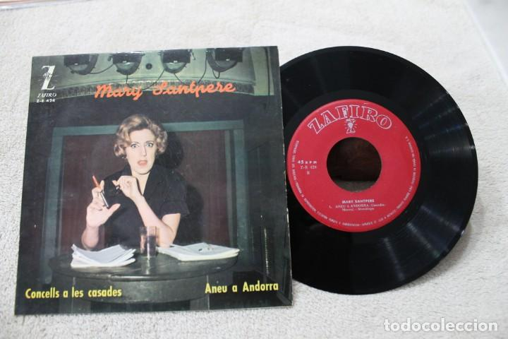 MARY SANTPERE CONSELLS A LES CASADES SINGLE 1963 (Música - Discos - Singles Vinilo - Solistas Españoles de los 50 y 60)