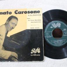 Discos de vinilo: RENATO CAROSONE Y SU CUARTETO EP TANI . Lote 192491817