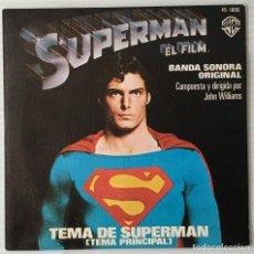 Discos de vinilo: SUPERMÁN. BANDA SONORA ORIGINAL. JOHN WILLIAMS. WARNER BROS, 1978. Lote 192493596