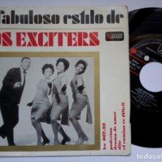 Discos de vinilo: LOS EXCITERS - HES GOT THE POWER - EP 1963 - UA. Lote 192493676