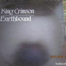 Discos de vinilo: KING CRIMSON - EARTHBOUND LP - ORIGINAL INGLES - ISLAND REORDS 1972 CON FUNDA INT. NEGRA. Lote 192495832