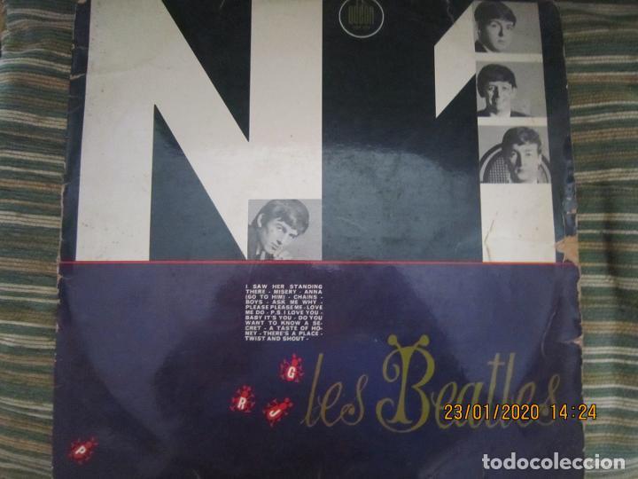Discos de vinilo: LES BEATLES - Nº 1 LP - ORIGINAL FRANCES - ODEON RECORDS 1964 MONOAURAL - ORANGE LABEL - Foto 2 - 192497112