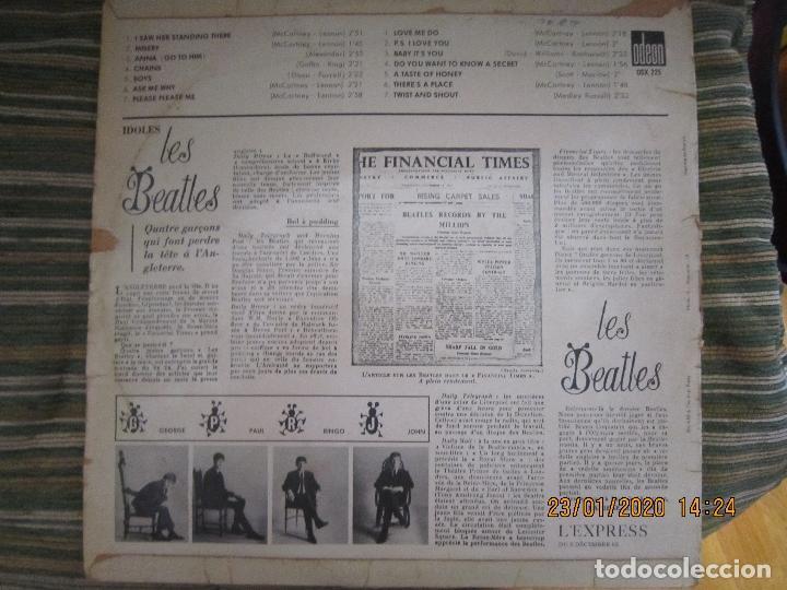 Discos de vinilo: LES BEATLES - Nº 1 LP - ORIGINAL FRANCES - ODEON RECORDS 1964 MONOAURAL - ORANGE LABEL - Foto 3 - 192497112