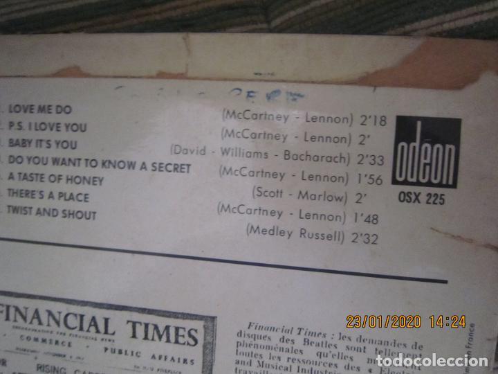 Discos de vinilo: LES BEATLES - Nº 1 LP - ORIGINAL FRANCES - ODEON RECORDS 1964 MONOAURAL - ORANGE LABEL - Foto 4 - 192497112