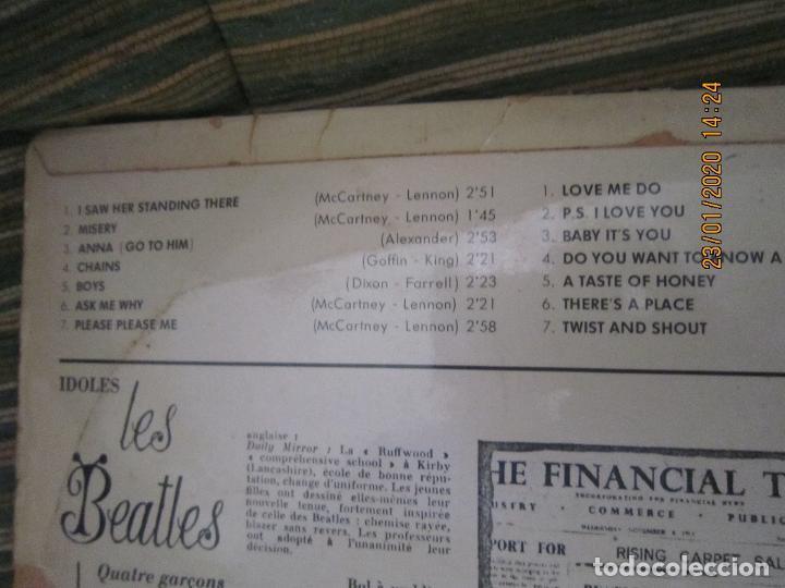 Discos de vinilo: LES BEATLES - Nº 1 LP - ORIGINAL FRANCES - ODEON RECORDS 1964 MONOAURAL - ORANGE LABEL - Foto 5 - 192497112