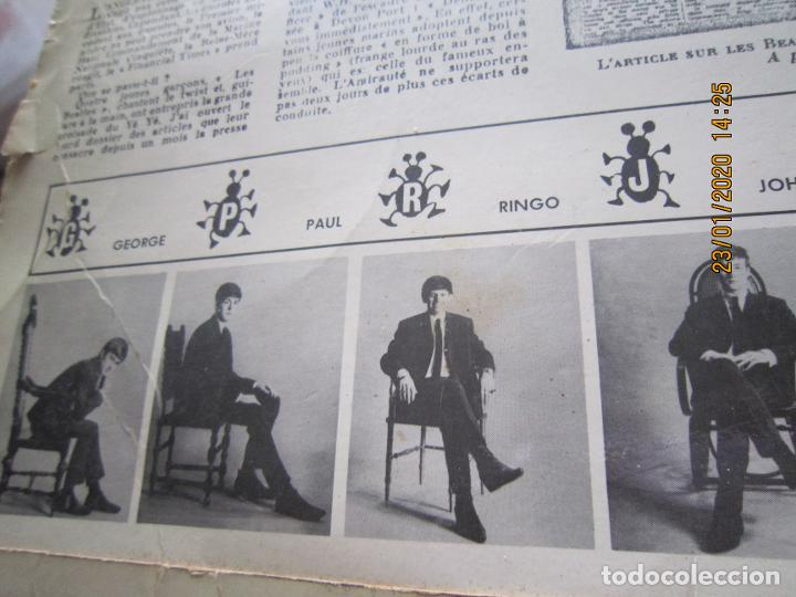 Discos de vinilo: LES BEATLES - Nº 1 LP - ORIGINAL FRANCES - ODEON RECORDS 1964 MONOAURAL - ORANGE LABEL - Foto 8 - 192497112