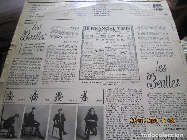 Discos de vinilo: LES BEATLES - Nº 1 LP - ORIGINAL FRANCES - ODEON RECORDS 1964 MONOAURAL - ORANGE LABEL - Foto 12 - 192497112