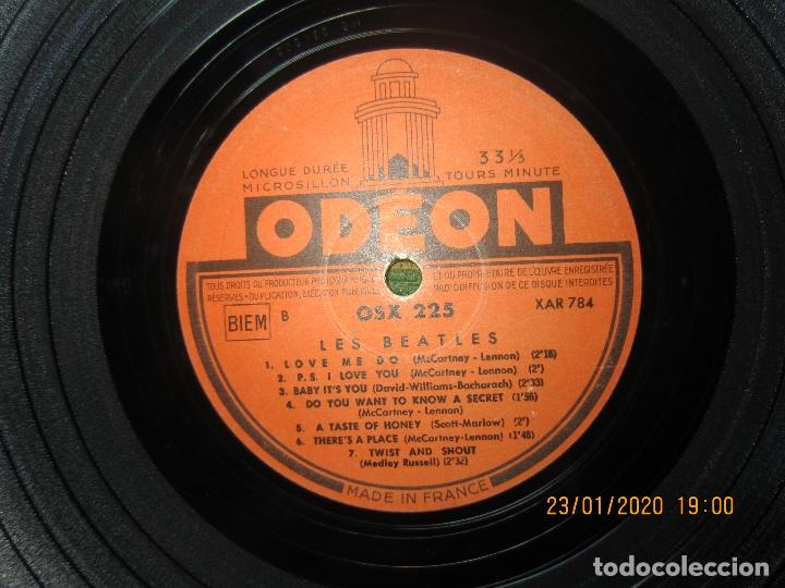 Discos de vinilo: LES BEATLES - Nº 1 LP - ORIGINAL FRANCES - ODEON RECORDS 1964 MONOAURAL - ORANGE LABEL - Foto 14 - 192497112