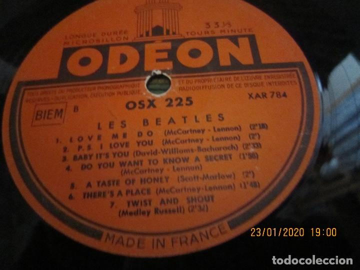 Discos de vinilo: LES BEATLES - Nº 1 LP - ORIGINAL FRANCES - ODEON RECORDS 1964 MONOAURAL - ORANGE LABEL - Foto 15 - 192497112