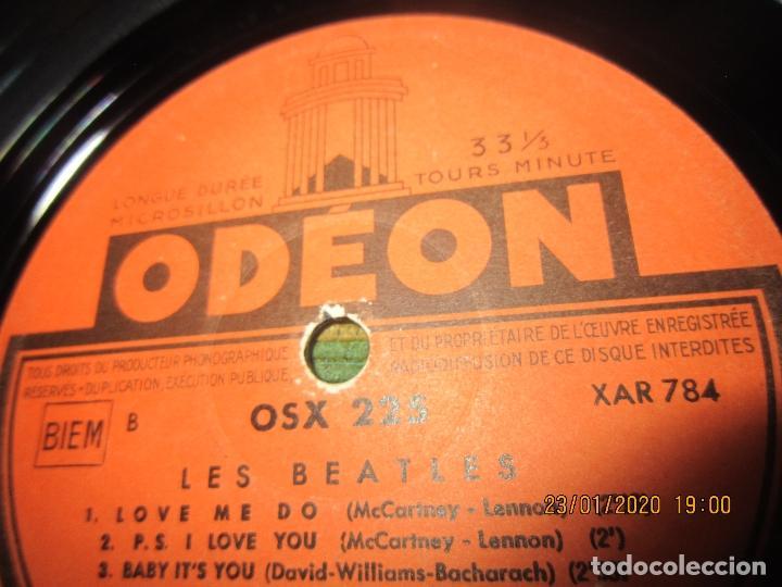 Discos de vinilo: LES BEATLES - Nº 1 LP - ORIGINAL FRANCES - ODEON RECORDS 1964 MONOAURAL - ORANGE LABEL - Foto 16 - 192497112