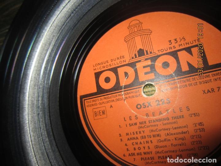 Discos de vinilo: LES BEATLES - Nº 1 LP - ORIGINAL FRANCES - ODEON RECORDS 1964 MONOAURAL - ORANGE LABEL - Foto 20 - 192497112