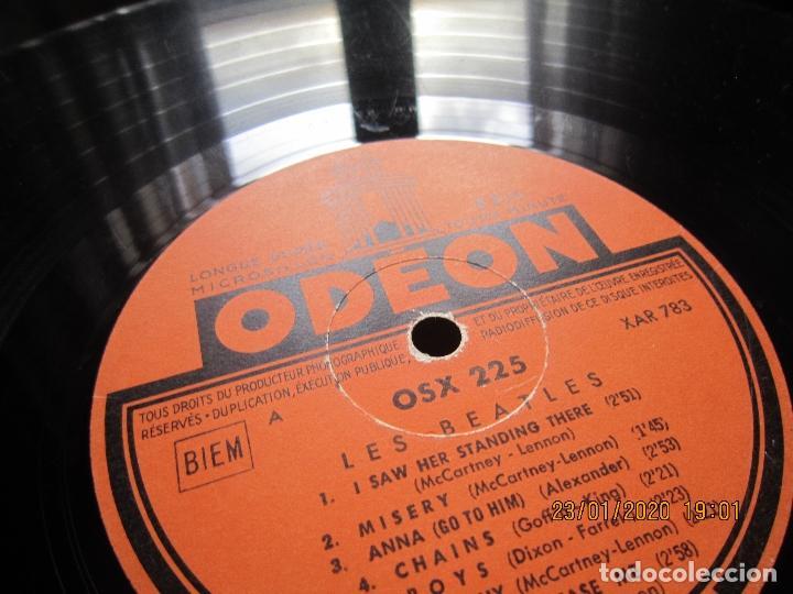 Discos de vinilo: LES BEATLES - Nº 1 LP - ORIGINAL FRANCES - ODEON RECORDS 1964 MONOAURAL - ORANGE LABEL - Foto 21 - 192497112