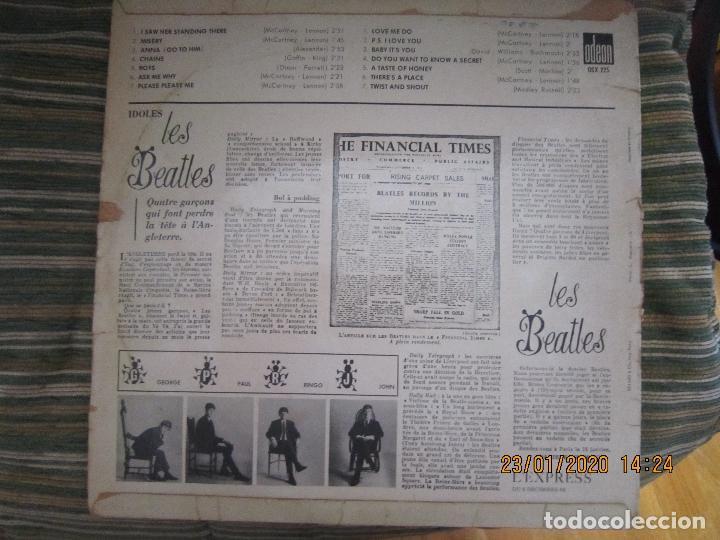 Discos de vinilo: LES BEATLES - Nº 1 LP - ORIGINAL FRANCES - ODEON RECORDS 1964 MONOAURAL - ORANGE LABEL - Foto 22 - 192497112