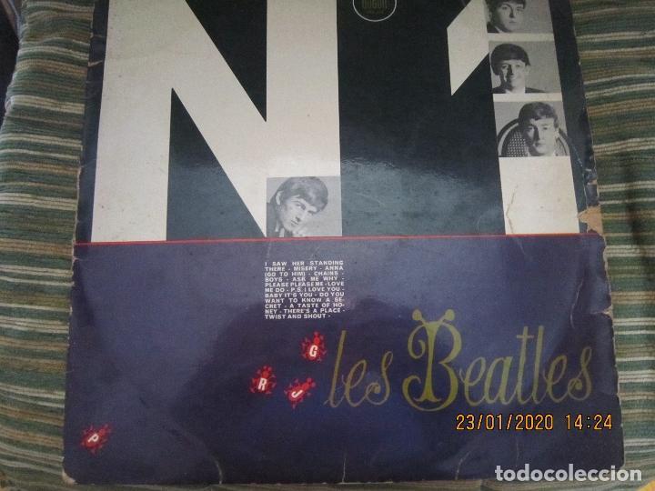 Discos de vinilo: LES BEATLES - Nº 1 LP - ORIGINAL FRANCES - ODEON RECORDS 1964 MONOAURAL - ORANGE LABEL - Foto 23 - 192497112
