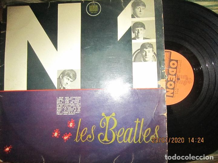 Discos de vinilo: LES BEATLES - Nº 1 LP - ORIGINAL FRANCES - ODEON RECORDS 1964 MONOAURAL - ORANGE LABEL - Foto 24 - 192497112