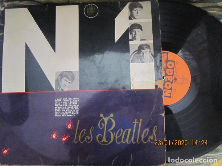 LES BEATLES - Nº 1 LP - ORIGINAL FRANCES - ODEON RECORDS 1964 MONOAURAL - ORANGE LABEL (Música - Discos - LP Vinilo - Pop - Rock Internacional de los 50 y 60)
