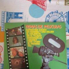 Discos de vinilo: TEMAS DE PELÍCULAS SUPERSTAR LP. Lote 192532223