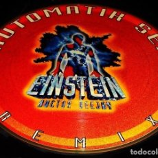 Disques de vinyle: EINSTEIN DOCTOR DEEJAY. AUTOMATIC SEX REMIX. LP VINILO PICTURE DISC. Lote 192537605