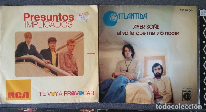Discos de vinilo: Estuche vinilos musica española Presuntos Implicados Atlántida Complices Carlos Cuevas Tennessee - Foto 3 - 192552521