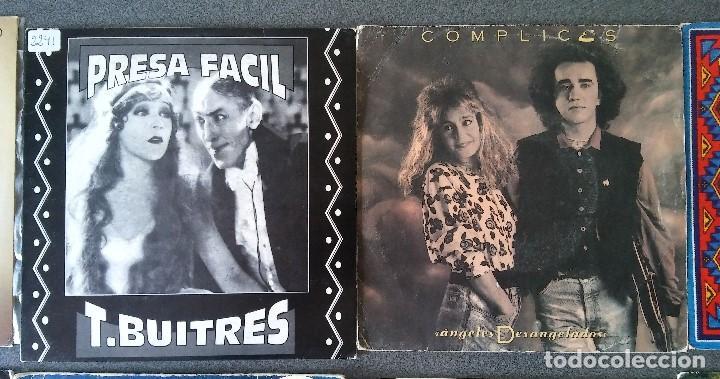 Discos de vinilo: Estuche vinilos musica española Presuntos Implicados Atlántida Complices Carlos Cuevas Tennessee - Foto 4 - 192552521