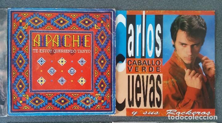 Discos de vinilo: Estuche vinilos musica española Presuntos Implicados Atlántida Complices Carlos Cuevas Tennessee - Foto 5 - 192552521