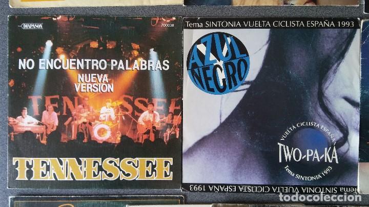 Discos de vinilo: Estuche vinilos musica española Presuntos Implicados Atlántida Complices Carlos Cuevas Tennessee - Foto 6 - 192552521