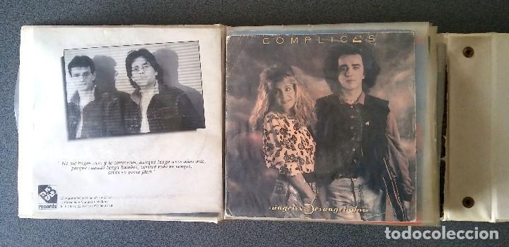 Discos de vinilo: Estuche vinilos musica española Presuntos Implicados Atlántida Complices Carlos Cuevas Tennessee - Foto 14 - 192552521