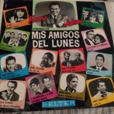 Discos de vinilo: MIS AMIGOS DEL LUNES. FRANZ JOHAM. 1964. Lote 192555728