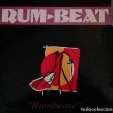 Discos de vinilo: RUM-BEAT (VERSIONES DE MICHAEL JACKSON, STEVIE WONDER, BOB MARLEY, EDITH PIAF ) MAXI SPAIN 1991. Lote 192565263