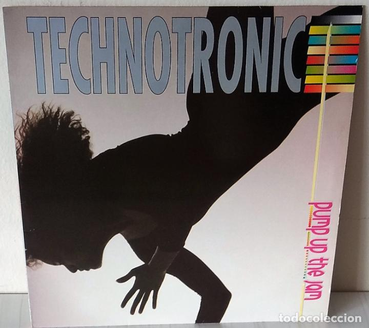 TECHNOTRONIC - PUMP UP THE JAM MAX MUSIC - 1989 (Música - Discos - LP Vinilo - Techno, Trance y House)