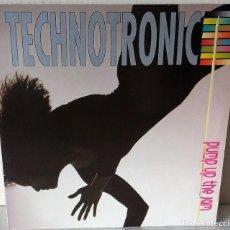 Discos de vinilo: TECHNOTRONIC - PUMP UP THE JAM MAX MUSIC - 1989. Lote 192566847