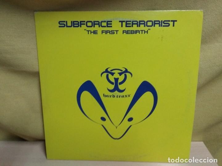 SUBFORCE TERRORIST - THE FIRST REBIRTH (Música - Discos de Vinilo - Maxi Singles - Techno, Trance y House)