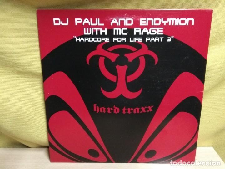 DJ PAUL AND ENDYMION - HARDCORE FOR LIFE PART 3 (Música - Discos de Vinilo - Maxi Singles - Techno, Trance y House)