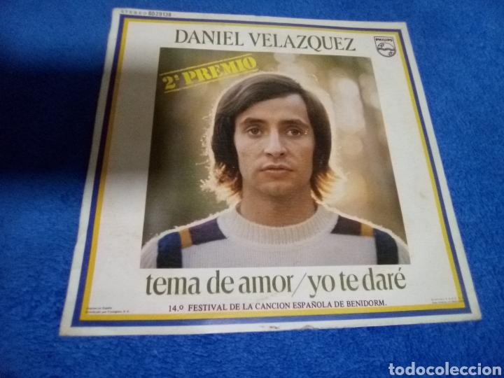 VINILO DANIEL VELÁZQUEZ (Música - Discos - Singles Vinilo - Cantautores Españoles)