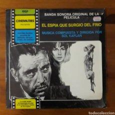 Discos de vinilo: EL ESPÍA QUE SURGIÓ DEL FRÍO (THE SPY WHO CAME IN FROM THE COLD) SOL KAPLAN. Lote 192602871