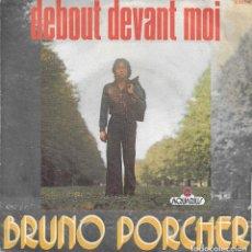 Discos de vinilo: BRUNO PORCHER DEBOUT DEVANT MOI AQUARIUS . Lote 192616851