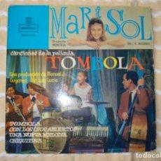Discos de vinilo: MARISOL TOMBOLA (SOLO FUNDA DE EP). Lote 192622722