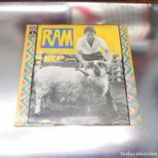 Discos de vinilo: PAUL MC CARTNEY --- RAM ---- EDICION 1971 (SOLO 2 COPIAS EN TC ) --VINILO VG+++ FUNDA ( MN OR M- ). Lote 192630555