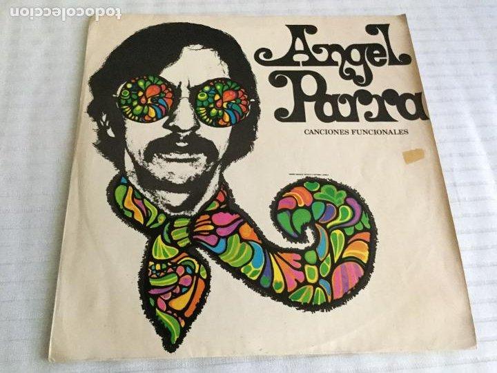 CANCIONES FUNCIONALES / ANGEL PARRA. PRODUCCIONES LINCE 196? (Música - Discos - LP Vinilo - Grupos y Solistas de latinoamérica)