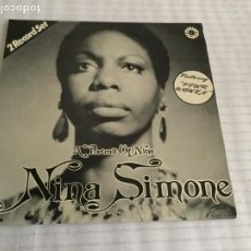 Discos de vinilo: A PORTRAIT OF NINA / NINA SIMONE. MADRID, 1977. DOBLE LP. Lote 192634947