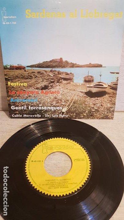 COBLA MARAVELLA / SARDANAS AL LLOBREGAT / EP - IBEROFON-1962 / MBC. ***/*** (Música - Discos de Vinilo - EPs - Country y Folk)
