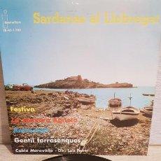 Discos de vinilo: COBLA MARAVELLA / SARDANAS AL LLOBREGAT / EP - IBEROFON-1962 / MBC. ***/***. Lote 192635836
