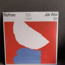 Disques de vinyle: REFREE. JAI ALAI VOL 01. VINILO 10 PULGADAS (2017). Lote 192645382