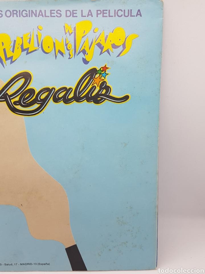 Discos de vinilo: REGALIZ ( LA REBELION DE LOS PAJAROS) YO QUIERO REIR, QUIERO JUGAR + HAGAMOS UN NIDO - BELTER - 1982 - Foto 2 - 192648905