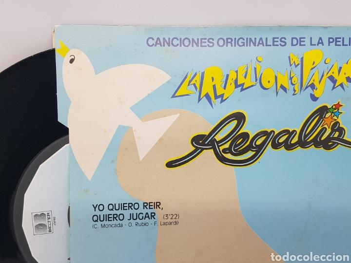 Discos de vinilo: REGALIZ ( LA REBELION DE LOS PAJAROS) YO QUIERO REIR, QUIERO JUGAR + HAGAMOS UN NIDO - BELTER - 1982 - Foto 3 - 192648905
